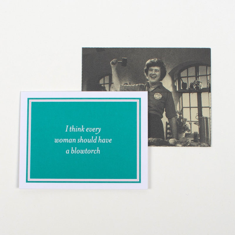Julia Child Notecards Princeton Architectural Press