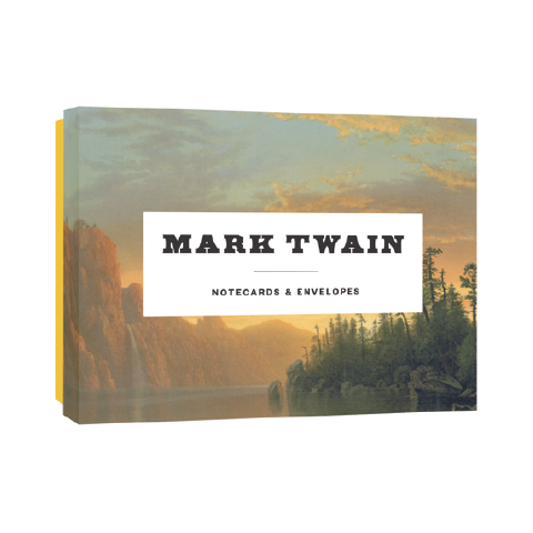 Mark Twain Notecards Princeton Architectural Press