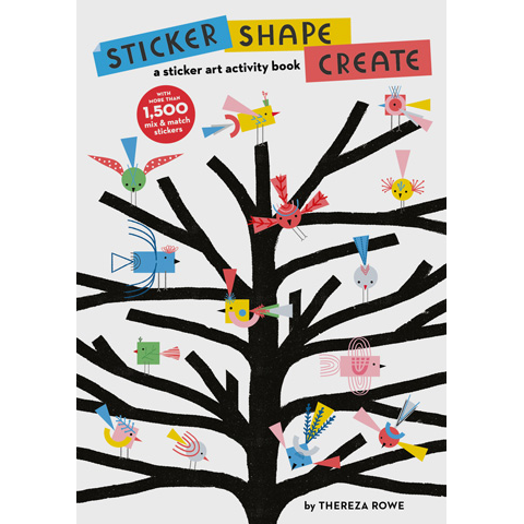 Sticker Shape Create Thereza Rowe