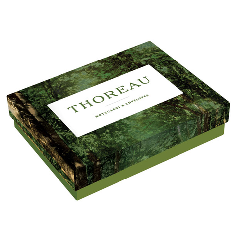 Thoreau Notecards Henry David Thoreau