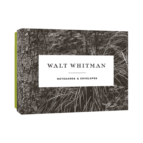 Walt Whitman Notecards Walt Whitman