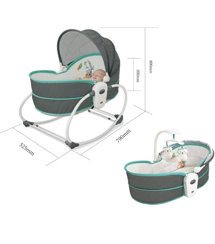 5 in 1 Rocker & Bassinet - Offspring