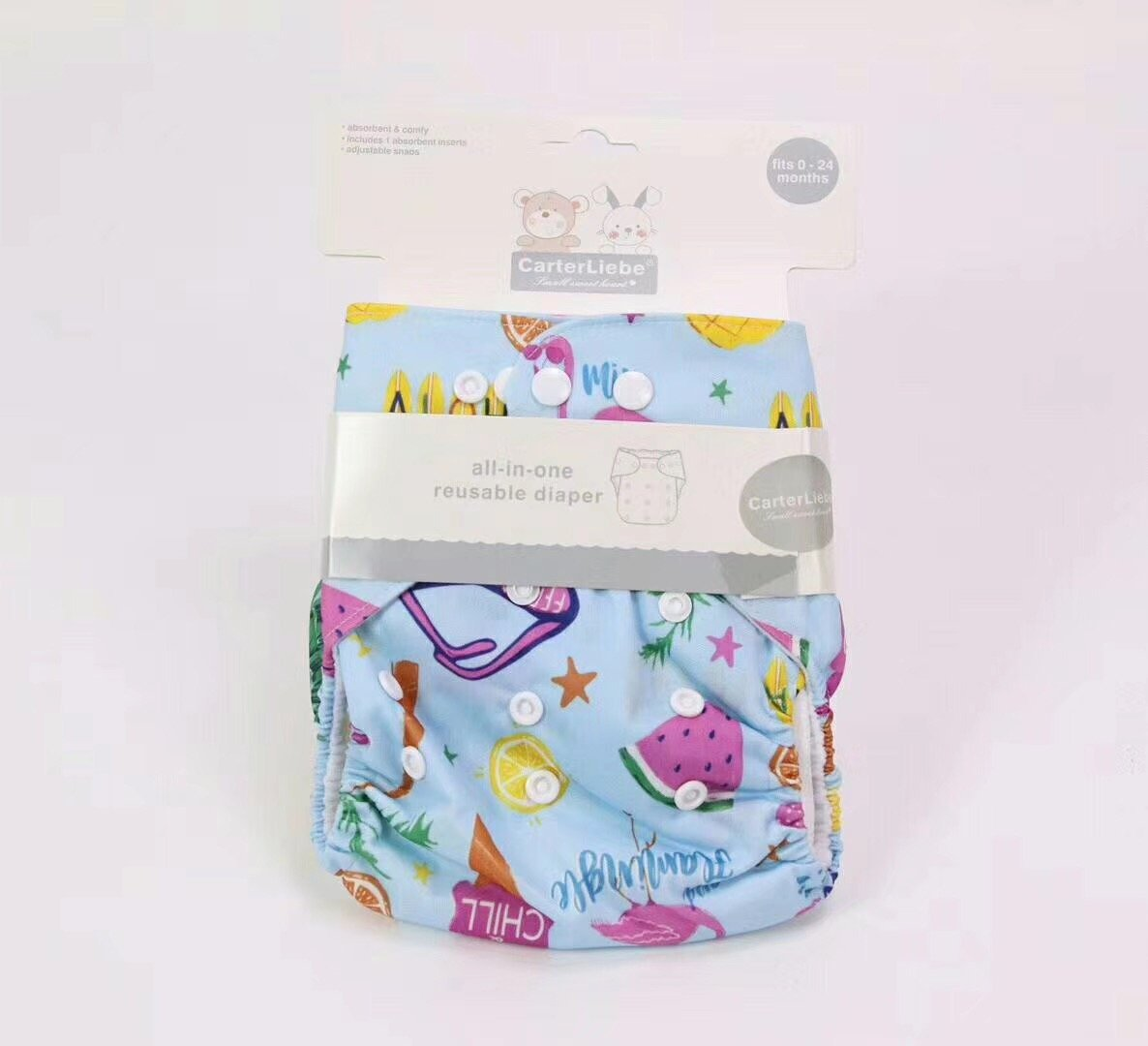 CarterLiebe All-In-One Reusable Diaper - Offspring