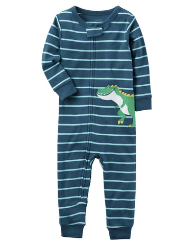 Carter's 1-Piece Dinosaur Snug Fit Cotton Footless PJs - Offspring