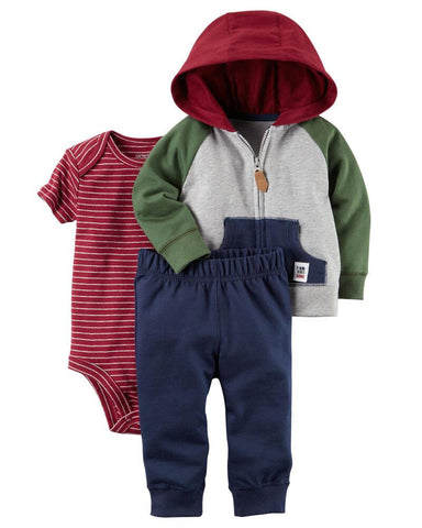 Carter's 3-Piece Little Jacket Set - Offspring