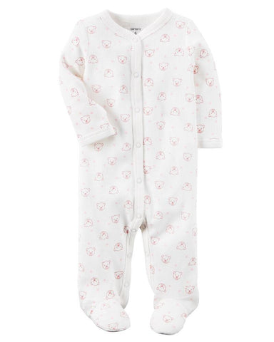 Carter's Cotton Snap-Up Sleep & Play - Offspring