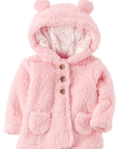 Carter's Sherpa Hooded Jacket - Offspring
