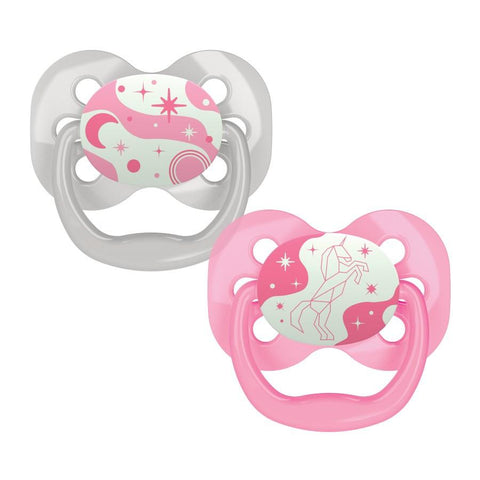 Dr. Brown's™ Advantage™ Glow-in-the-Dark Pacifiers, 2 Count - Offspring