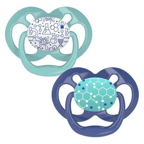 Dr. Brown's Advantage Pacifier - Stage 2 * 6-18M - 2-Pack - Offspring