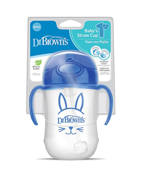 Dr. Brown's® Baby's First Straw Cup, 270 ml (6m+) - Offspring