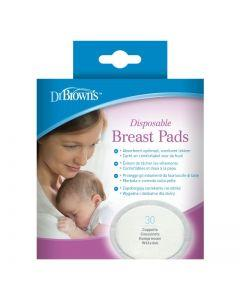 Dr. Brown's® Disposable Breast Pads (oval), 30 Count - Offspring