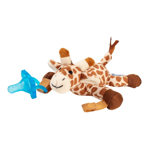 Dr. Brown's Giraffe Lovey with Blue One Piece Pacifier - Offspring