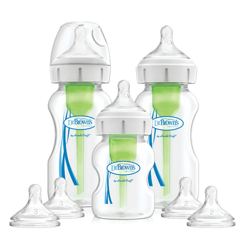 Dr. Brown's Wide Neck Options+ Baby Bottle Starter Kit - Offspring