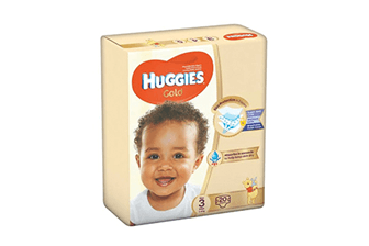 Huggies Gold Midi (size 3) 5-8Kgs 20pc - Offspring