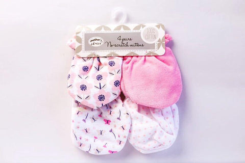 Mother's Choice 4 Pack Mittens - Offspring
