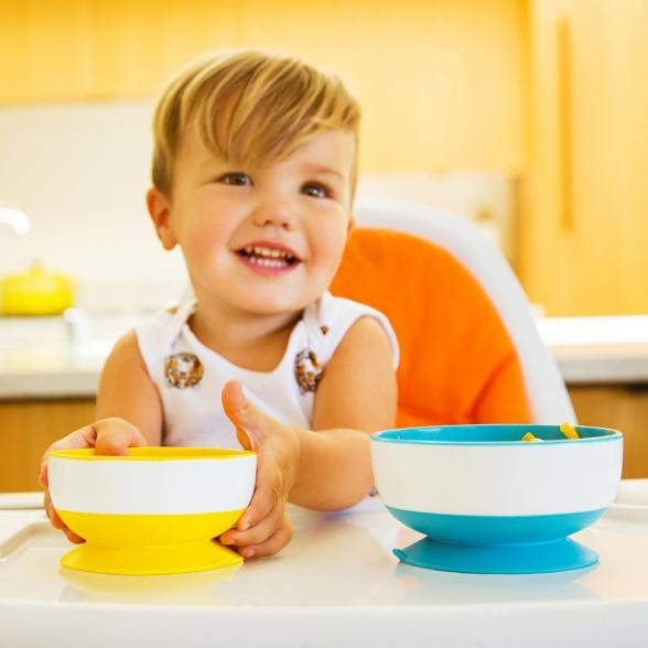 Munchkin Stay Put™ Suction Bowls - 3 Pack - Offspring