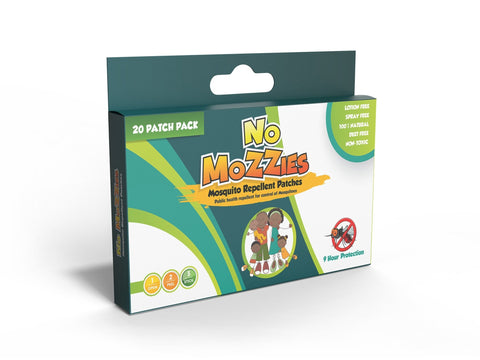 No Mozzies Mosquito Repellant Patches - Offspring