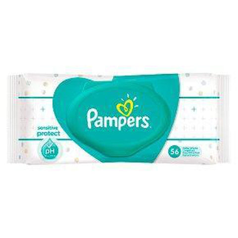 Pampers Sensitive 56s Wipes - Offspring