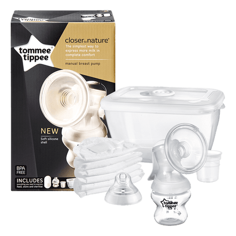 Tommee Tippee Close to Nature Manual Breastpump Set - Offspring