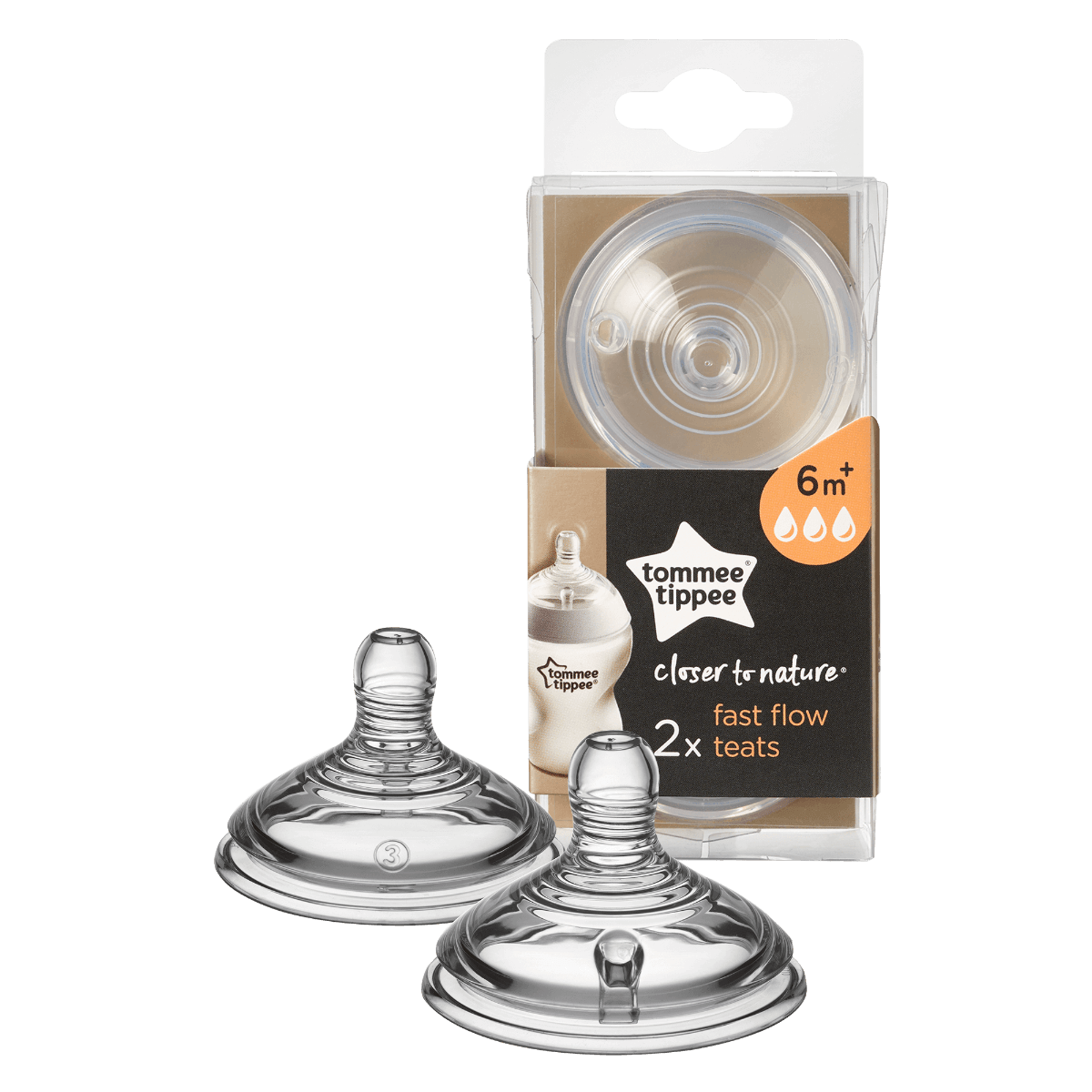 Tommee Tippee Close to Nature Teats - Offspring