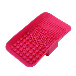 Silicone Makeup Brushes Cleaning Pad - Ebony's Beauty Hair and Skin Care LLC