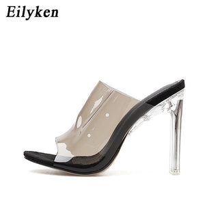 Women Transparent Heels