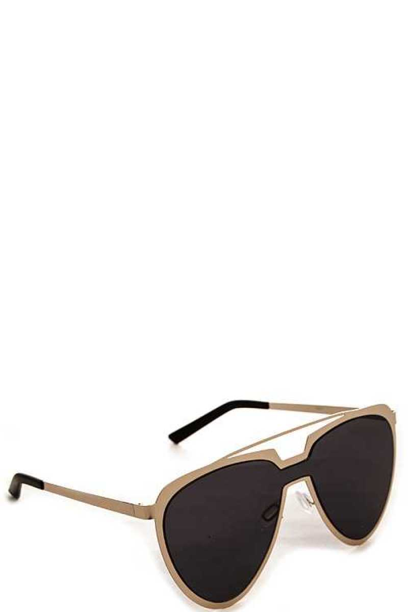 Modern Aviator Retro Pop Sunglasses - Ebony's Beauty Hair and Skin Care LLC