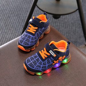 Luminous Sneakers LED Light Up Shoes - Ebony's Beauty Hair and Skin Care LLC