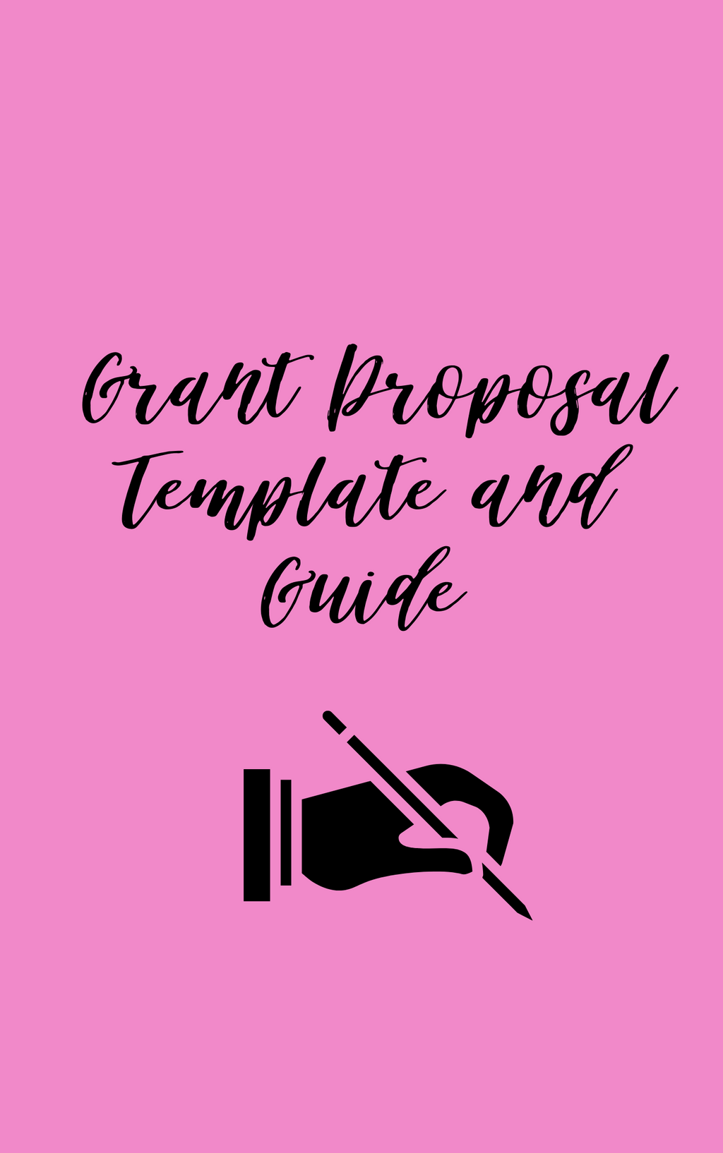 Grant Proposal Template - Ebony's Beauty Hair and Skin Care LLC