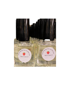 Strawberry Cuticle Oil - Ebony's Beauty Hair and Skin Care LLC