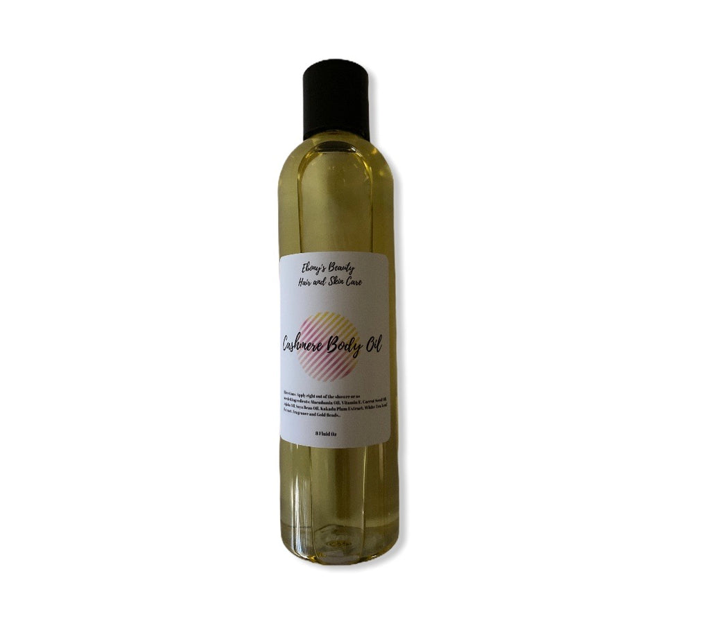 Cashmere Glow Body Oil - Ebony's Beauty Hair and Skin Care LLC