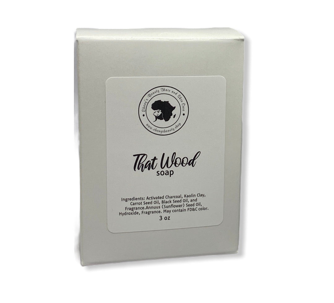 That Wood Detox Soap
