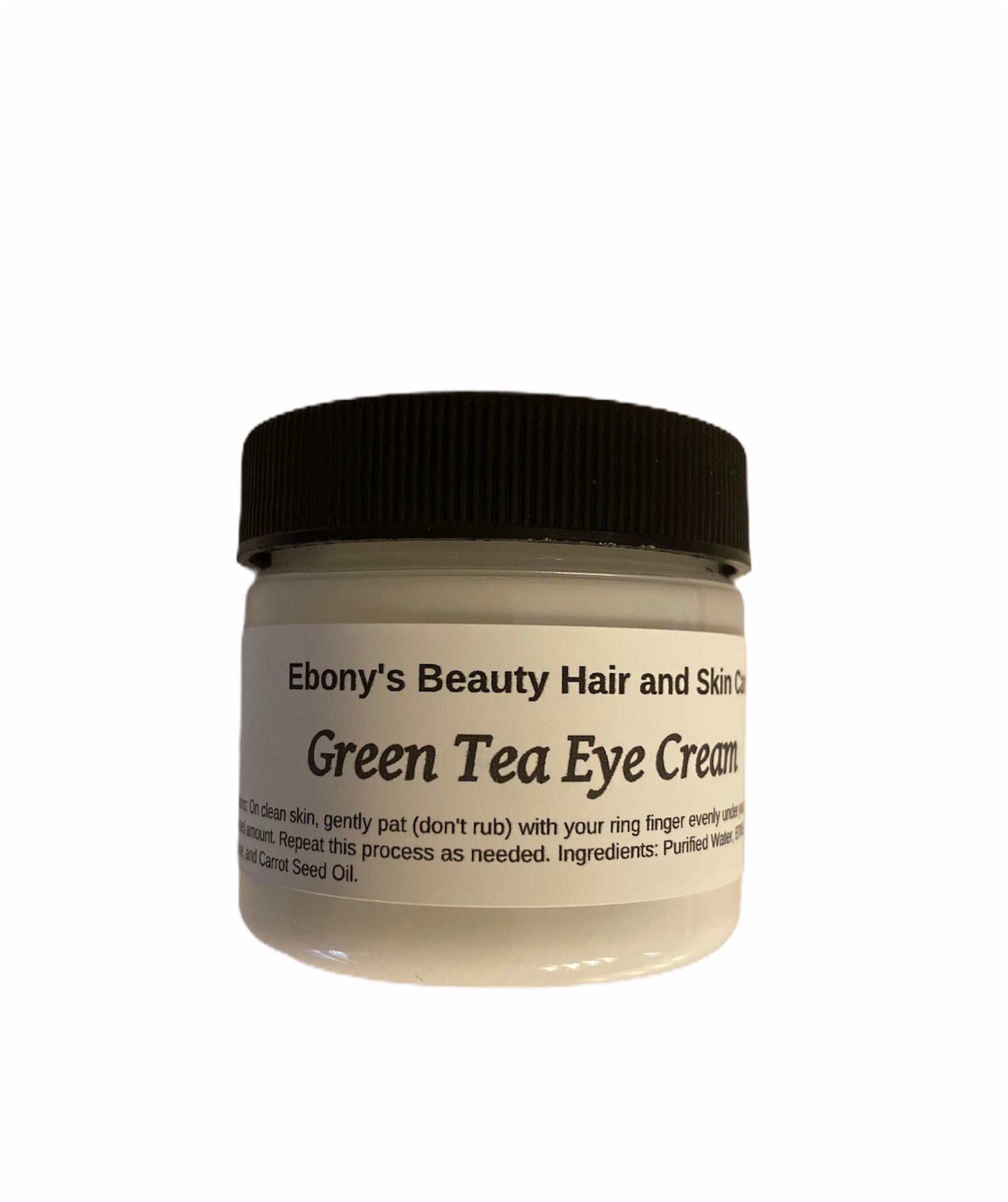 Green Tea Eye Cream - Ebony's Beauty Hair and Skin Care LLC