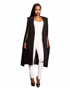 First Lady Cape Trench Coat