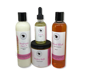 Dry-Frizzy-  Damaged Hair Care Bundle - Ebony's Beauty Hair and Skin Care LLC