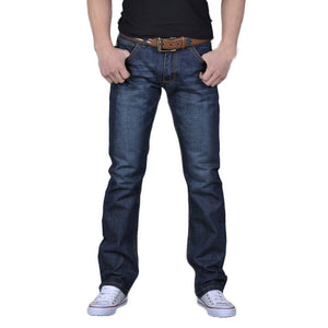 Men Denim Jeans Casual Slim Fit Denim - Ebony's Beauty Hair and Skin Care LLC