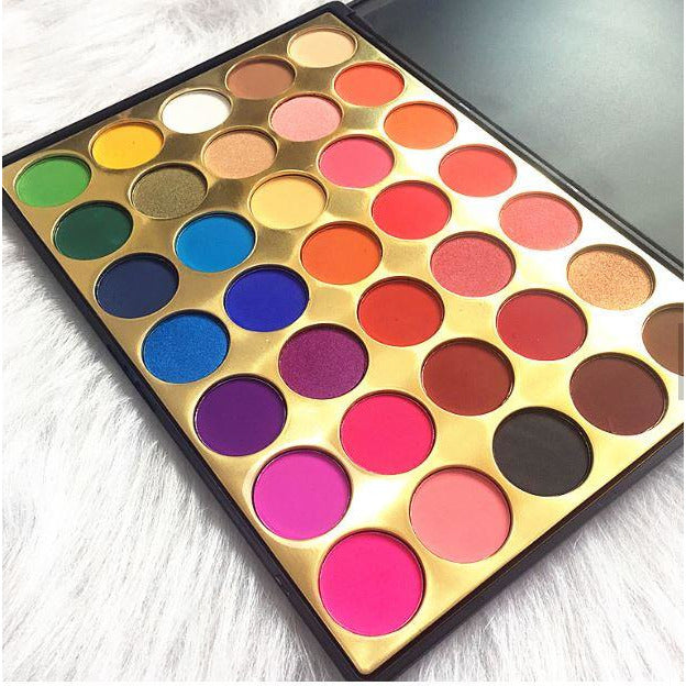 Highly Favored Affirmation  35 Piece Eye-shadow Palette - Ebony's Beauty Hair and Skin Care LLC