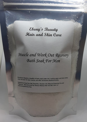 Muscle and Work Out Recovery Bath Soak For Men