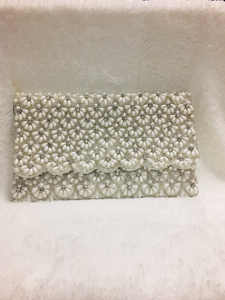 Pearl Clutch Purse - Ebony's Beauty Hair and Skin Care LLC