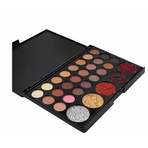 29 Colors Eye Shadow Powder Make Up Waterproof Eye Shadow Palette Cosmetics - Ebony's Beauty Hair and Skin Care LLC