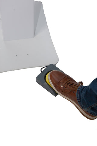 Optional USB Foot Pedal For Touchless Start