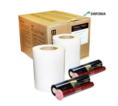 2 Rolls of Printer Media for Sinfonia CS/2 Printer