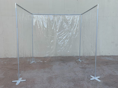 HootBooth® Plastic Barrier System