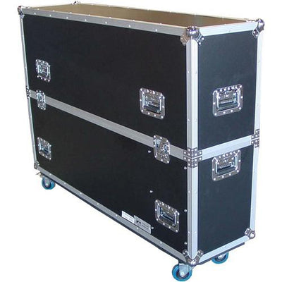 "Closed Travel Case For HootBooth LumaVu Displays Sized 49""-65"""
