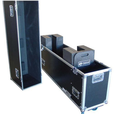 Open View Of The Display Rolling Travel Case For the HootBooth LumaVu 'Display-Only' Product Variant