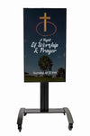 Portable Digital Signage For Churches