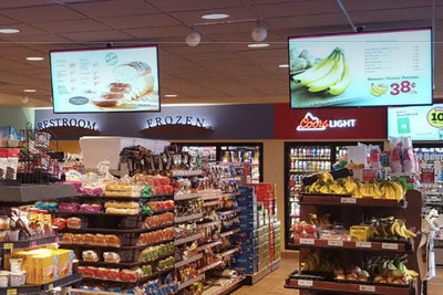 HootBooth® LumaVu 24/7 Digital Menu Boards & Digital Signage Arrays