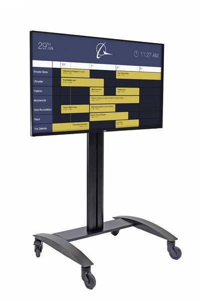 HootBooth LumaVu Digital Signage On Stand For Events & Conferences