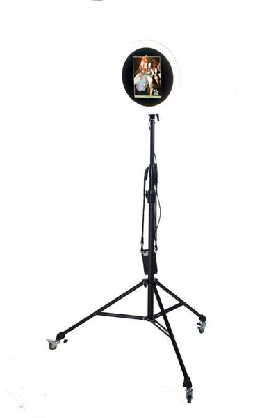 "HootBooth® ILLUMIN8 ROVR 10.5"" iPad Ring Light Photo Booth"