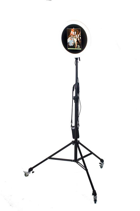 HootBooth ILLUMIN8 ROVR GIF Booth with detachable unit for roaming